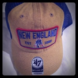 New England Patriots Retro Adjustable Hat new